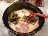 「高菜らーめん 塩 700円」@麺や 風まかせの写真
