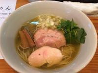 「煮干らーめん  756円」@らーめん芝浜の写真