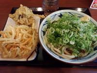 「ぶっかけ(冷・大)380円他」@丸亀製麺 足立加平店の写真