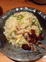 「無尽蔵特製ミニチャーハン345円」@越後秘蔵麺 無尽蔵 しながわ家の写真