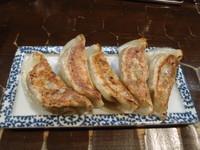 「龍神ぎょうざ 350円」@特級鶏蕎麦 龍介の写真