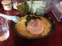 「豚骨醤油(大盛り)690円+100円」@藤井家の写真