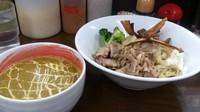 「【期間限定】カボつけトン」@麺屋庄太 津久井浜店の写真