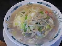 「野菜たっぷりタンメン(500円)」@日高屋 東武動物公園駅店の写真