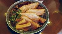 「熟成醤油ラーメン+チャーシュー並」@古式ラーメン 鶴亀の写真