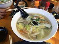 「タンメン+焼き餃子 800円」@らーめん鳳凰の写真