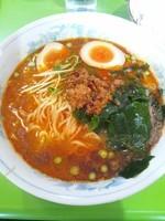 「担々麺(味玉トッピング)」@万楽の写真
