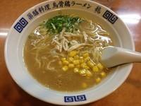 「烏骨鶏 塩ラーメン(700円)」@烏骨鶏ラーメン 龍の写真