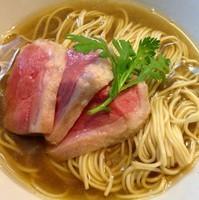 「【5周年限定】鴨中華蕎麦(S)」@煮干中華ソバ イチカワの写真
