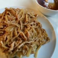 「豚糸®炒飯(ルースー・チャーハン)並 ¥700」@喜久屋食堂の写真
