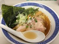 「イサダ中華そば  500円」@濃厚鶏豚骨魚介つけ麺 かず屋の写真
