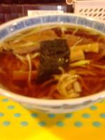 「中華そば(中) 手打風麺」@中華そば なり田の写真