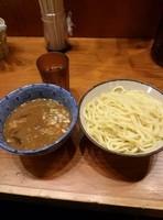 「濃厚平子煮干しつけ麺(大盛)」@麺や百日紅の写真