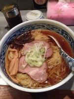 「らあめん➕大盛➕麺硬め 670円」@やきやの写真