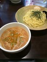 「北海道味噌つけ麺 味玉」@味噌屋 門左衛門の写真