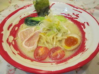 「鶏白湯らぁ麺」@麺や Afuuの写真