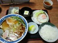 「ラーメン 550円」@たからや食堂の写真