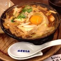 「豆腐とささみ入り味噌煮込うどん(¥1,458)」@山本屋本店 栄本町通店の写真