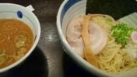 「豚骨魚介つけ麺」@九段 斑鳩の写真