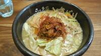 「味噌らぁ麺 850円」@らあ麺×つけ麺専門店 まがりの写真