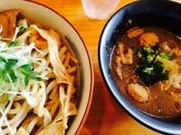 「牛骨つけ麺  大盛り」@麺魂 39の写真