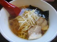 「天地返し麺・醤油」@六紋銭 -essence-の写真