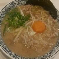 「肉そば 702円」@丸源ラーメン 土浦店の写真