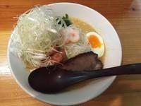 「季節限定 味噌らーめん+しらす明太子丼」@麺や七福の写真