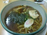 「めんまるらーめん しょうゆ 太麺 (大盛り)」@ラーメン&お食事 吟 飯田店の写真