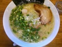 「丸鶏白湯(塩)+大盛」@一合舎 高崎店の写真