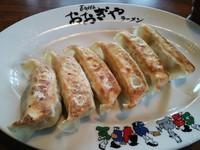 「ギョーザ¥324」@おおぎやラーメン 玉村町店の写真