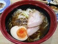 「7種の魚介醤油らーめん」@無添 くら寿司 松本渚店の写真
