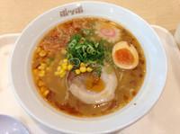「海老味噌ラーメン (529円)」@ポッポ 大森店の写真
