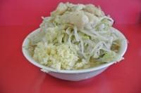 「ラーメン700円 野菜ニンニク脂」@ラーメン二郎 茨城守谷店の写真