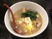 「あさり塩バターラーメン 750円」@麺や 風まかせの写真
