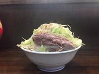 「ラーメン(チャーシュー3枚)マシ 麺300グラム」@ラーメン 富次郎の写真