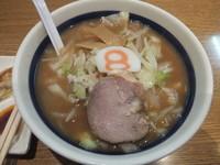 「小さな8番セット702円(小さな味噌野菜ラーメン)」@8番ラーメン 福井駅店の写真