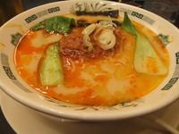 「坦々麺590円」@日高屋 柏西口店の写真