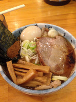 「特製ラーメン」@自家製麺 然の写真
