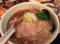 「ワハハ煮干そば(醤油)¥750」@串あげ ムタヒロの写真