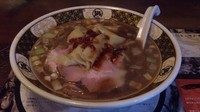 「【プレオープン無料提供】すごい煮干ラーメン」@すごい煮干ラーメン凪 五反田西口店の写真