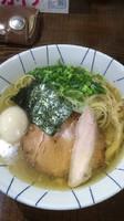 「味玉煮干しそば 塩  820円」@二代目 むじゃきの写真