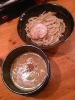 「濃厚魚介つけ麺780円」@横浜家系ラーメン 檜家の写真