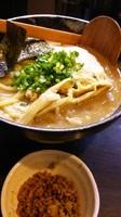 「2代目濃厚ラーメン大盛り(つけ麺用の麺)➕キーマ」@二代目 狼煙 ~心~の写真