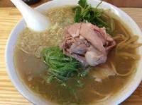 「煮干そば濃い目  730円」@中華そば よしかわの写真