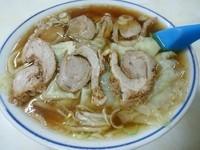 「チャーシューワンタン麺(並盛)570円」@林屋食堂の写真