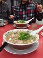 「特製醤油ラーメン・麺カタメ」@ラーメン魁力屋 河原町三条店の写真