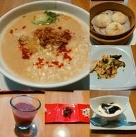 「平日限定のランチセット(A:担々麺1500円)」@CHINESE FAN ホテル ココグラン店の写真