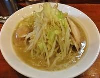 「濃厚鶏白湯タンメン \830+味玉 \100」@麺屋 御神本の写真