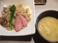 「12月30日限定 鴨とフォアグラのつけ麺 1000円」@中華蕎麦 瑞山(ZUIZAN)の写真